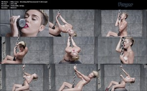 Miley Cyrus En Exclusiva Con El Video Sin Censura De Su Videoclip 'Wrecking Ball'