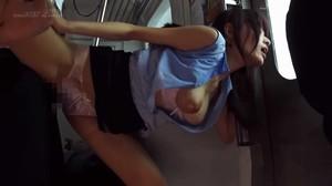SDMU-869 SOD Romance Molested Commuter Train sc3