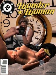 Zeta Clark - Wonder Woman Vs Time Lapse