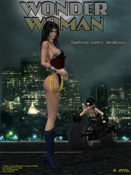 Argento - Wonder Woman - Selina Gets Jealous
