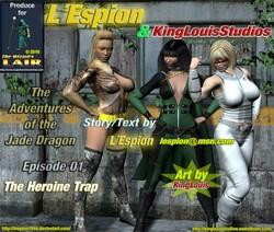 Suprheroines central - LEspion - The Heroine Trap